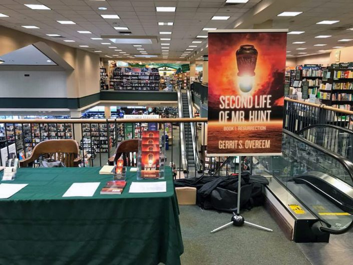 Barnes and Nobles Meet the Author Weekend Oct 2017